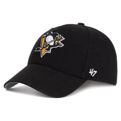 Czapka z daszkiem 47 BRAND - Pittsburgh Penguins H-MVP15WBV-BKB Black