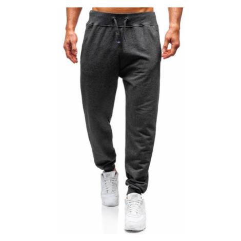 Spodnie dresowe męskie antracytowe Bolf 145364