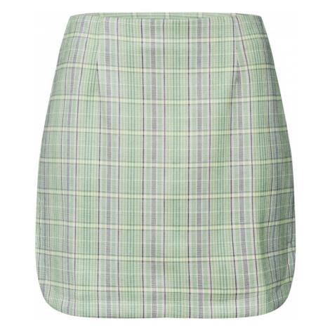GLAMOROUS Spódnica szary / zielony