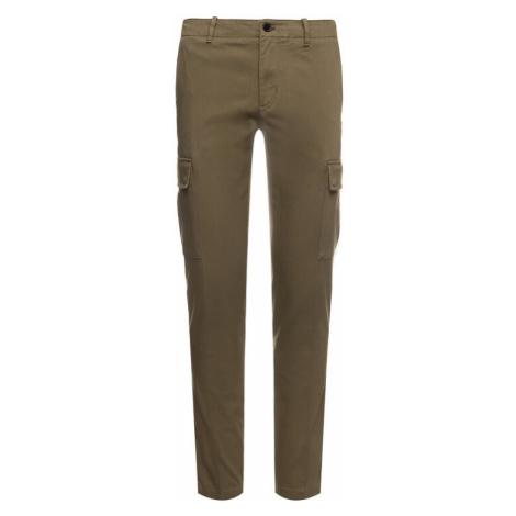 TOMMY HILFIGER Spodnie materiałowe Bleecker Crago MW0MW12593 Zielony Slim Fit