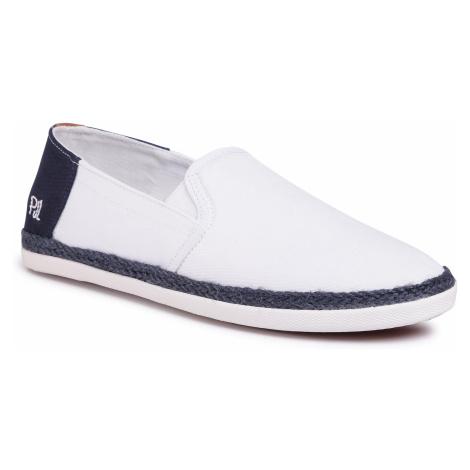 Espadryle PEPE JEANS - Maui Slip On PMS10282 White 800