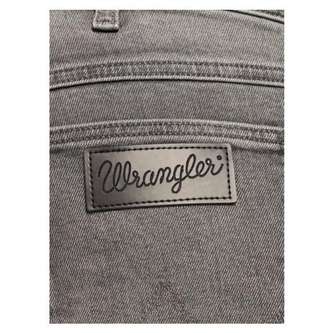 Wrangler Szorty jeansowe 5 Pocket W14CU311R Szary Slim Fit
