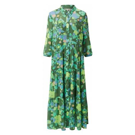 TOM TAILOR DENIM Sukienka koszulowa zielony