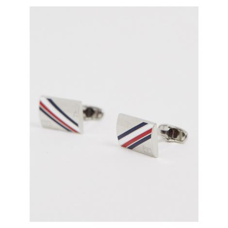Tommy Hilfiger logo cufflinks