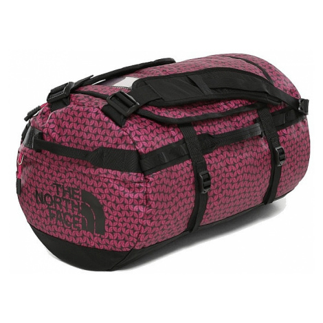 torba The North Face Base Camp Duffel S - Festival Pink Melting Dome Print/TNF Black