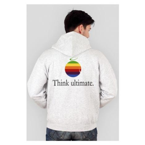Bluza męska z kapturem (rozpinana) - think ultimate (różne kolory!)