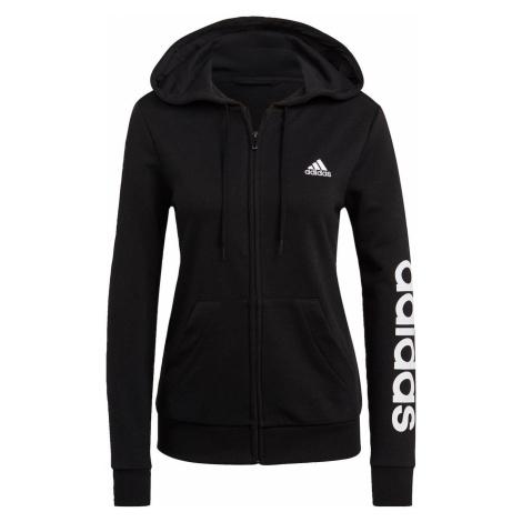 Adidas Essentials Logo Full-Zip Bluza z kapturem Damska