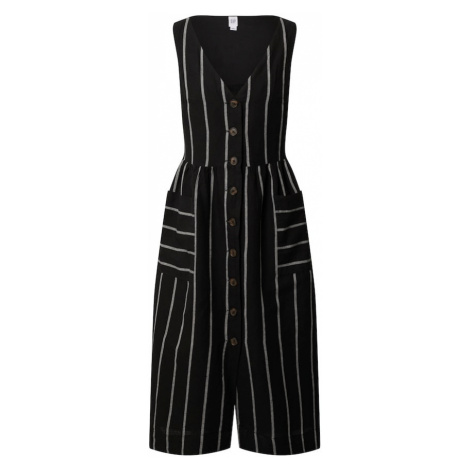 GAP Sukienka koszulowa 'SL BTN FRT F/F MIDI DRS - YD' mieszane kolory / czarny