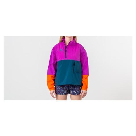 Nike NRG ACG Anorak Jacket Vivid Purple/ Blue Force/ Bleached Coral