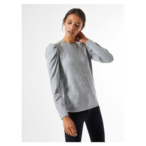 Szary, jasny sweter Dorothy Perkins
