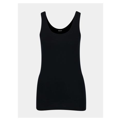 Granatowa koszulka na ramiączkach Jacqueline de Yong Yava