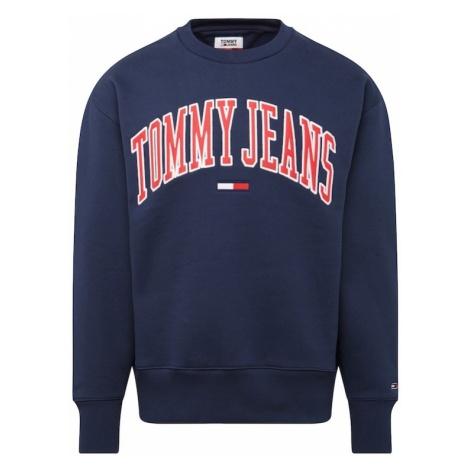 Tommy Jeans Bluzka sportowa ciemny niebieski / czerwony Tommy Hilfiger