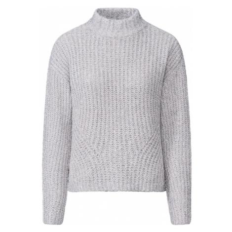 PIECES Sweter 'JENNY' jasnoszary