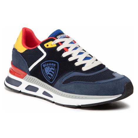 Sneakersy BLAUER - S1HILO01/SME Fan/Nvy Fantasy/Navy