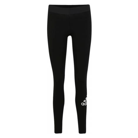 ADIDAS PERFORMANCE Spodnie sportowe czarny / biały