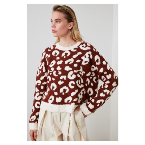 Trendyol MultiColor Jacquard Knit Sweater