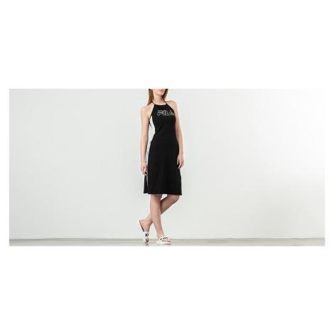 FILA Amina Neckholder Dress Black/ Bright White