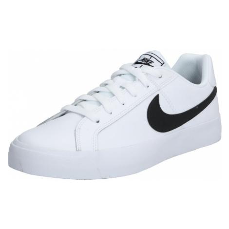 Nike Sportswear Trampki niskie 'Court Royale AC' czarny / biały