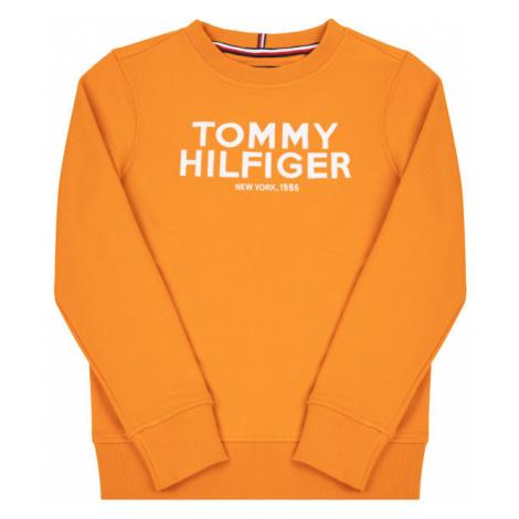 TOMMY HILFIGER Bluza KB0KB04949 D Pomarańczowy Regular Fit