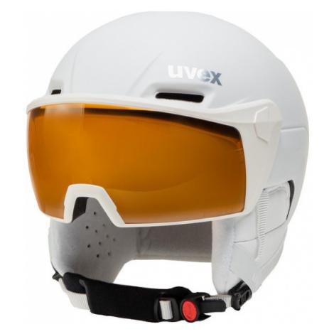 Uvex Kask narciarski Hlmt 700 Visor 5662371003 Biały