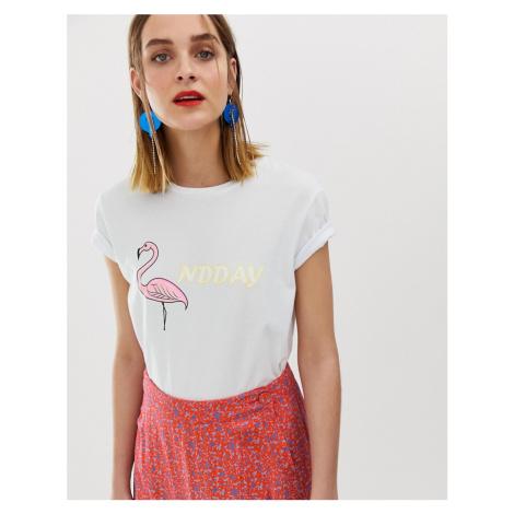 2NDDAY flamingo t-shirt