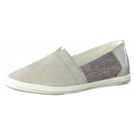 TAMARIS Pantofle jasnoszary