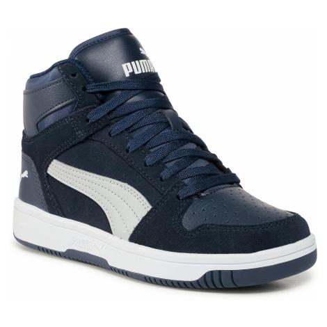 Sneakersy PUMA - Rebound Layup Sd Jr 370494 07 Peacoat/Gray Violet/White