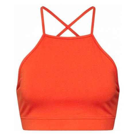 Urban Classics Top pomarańczowo-czerwony