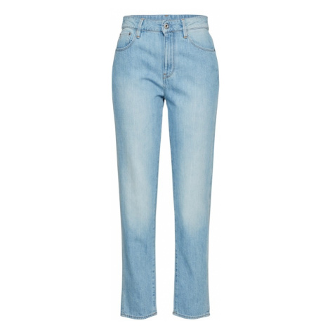 G-STAR RAW Jeansy '3301 High Straight 90's Ankle Wmn' jasnoniebieski