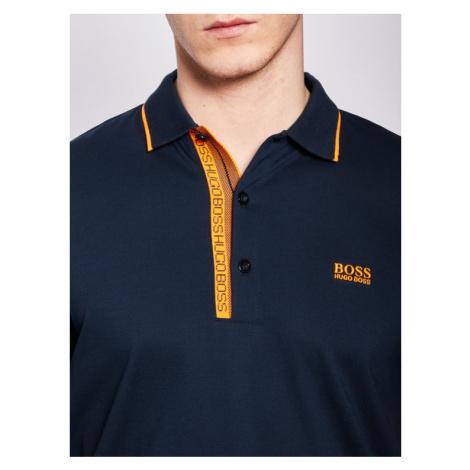 Boss Polo Paule 4 50399185 Granatowy Slim Fit Hugo Boss