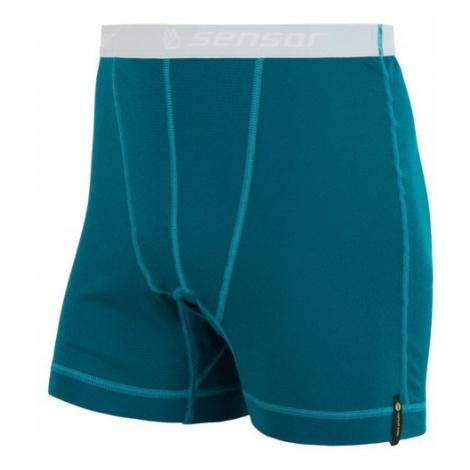 SENSOR Termoaktywne bokserki męskie DOUBLE FACE blue-XL-Niebieski