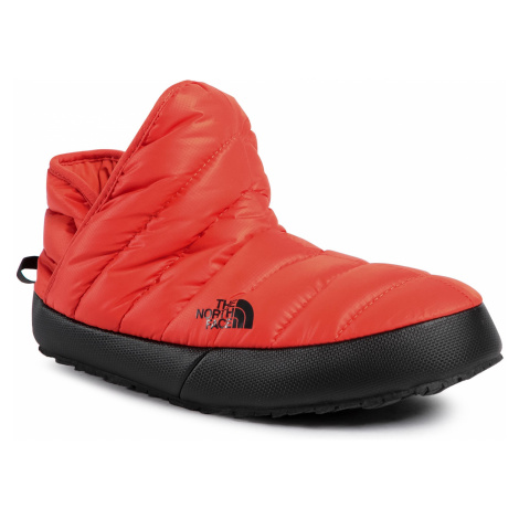 Kapcie THE NORTH FACE - Thermoball Traction Bootie NF0A3MKHSH91 Flare/Tnf Black