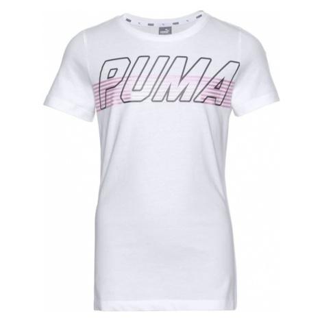 PUMA Koszulka 'Alpha' różowy pudrowy / czarny / biały