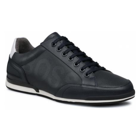 Boss Sneakersy Saturn 50452031 10231638 01 Granatowy Hugo Boss