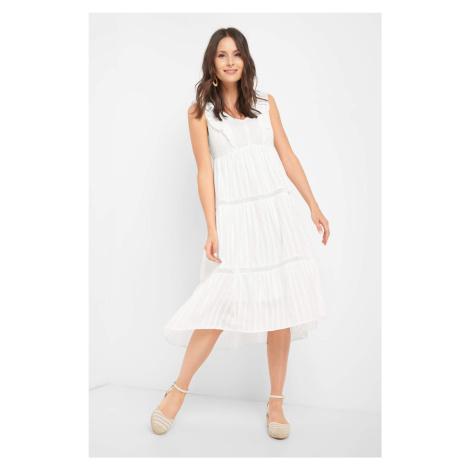 Sukienka midi w paski Orsay