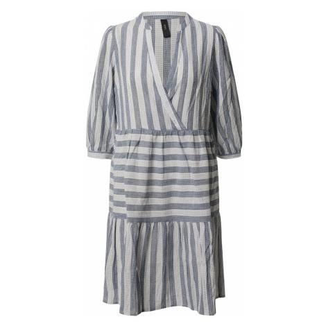 Y.A.S Sukienka 'CARBI' niebieski / biały