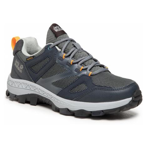 Trekkingi JACK WOLFSKIN - Downhill Texapore Low W 4044151 Dark Blue/Grey