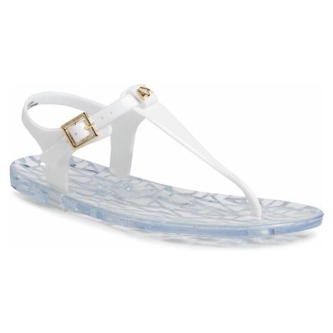 Sandały ARMANI EXCHANGE - XDQ005 XV306 00152 Optical White