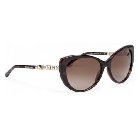Michael Kors Okulary przeciwsłoneczne Galapagos 0MK2092 300613 Czarny