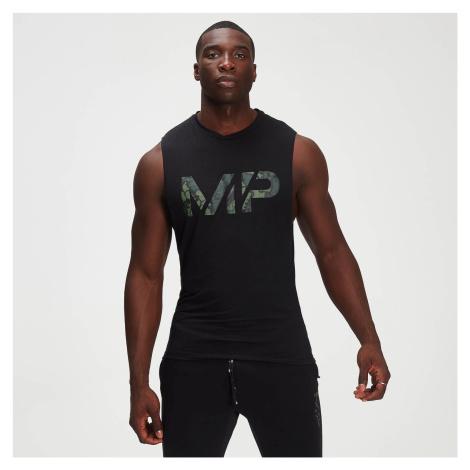 Męska koszulka bez rękawów drirelease® Camo Print z kolekcji Adapt – czarna