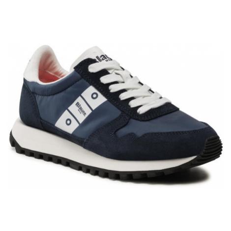 Blauer Sneakersy S1MERRILL01/NYS Granatowy