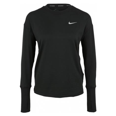 NIKE Koszulka funkcyjna 'ELMNT' czarny / biały
