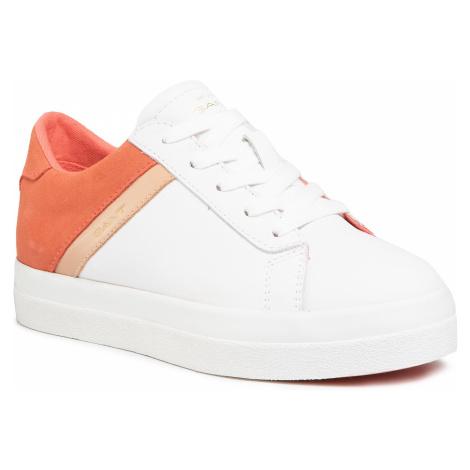 Sneakersy GANT - Avona 20531503 Br.Wht./Br. Coral G285