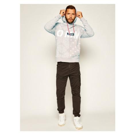 Tommy Jeans Bluza Tjm Bandana Logo Hoodie DM0DM07874 Beżowy Regular Fit