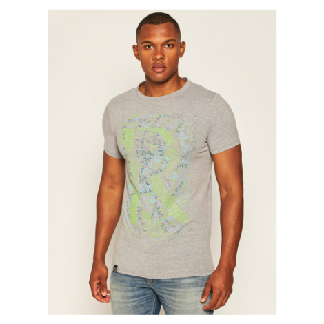 Rage Age T-Shirt Mess Szary Skinny Fit