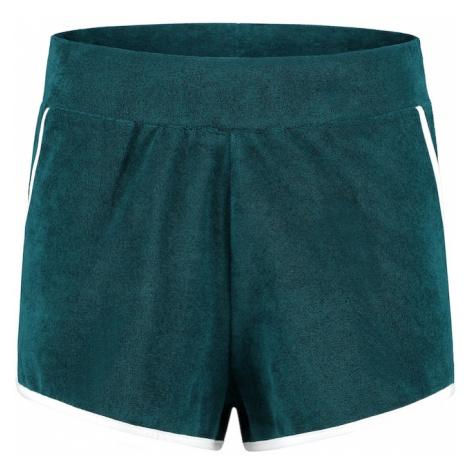 Shiwi Spodnie 'Ladies terry short' szmaragdowy