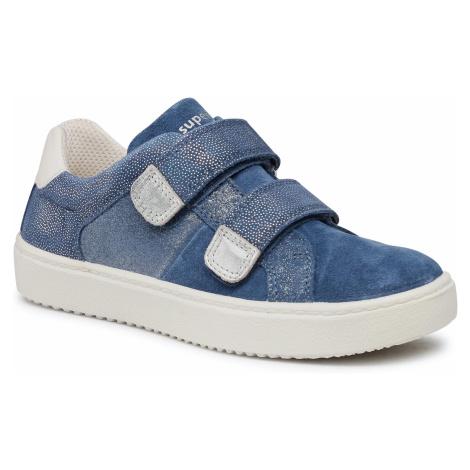 Sneakersy SUPERFIT - 1-000491-8000 S Blau