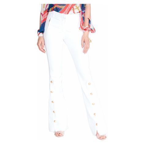 Pinko Alisso Spodnie Biały