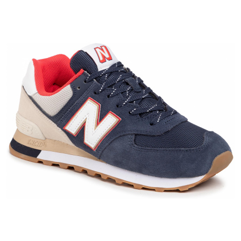 Sneakersy NEW BALANCE - ML574SKB Granatowy