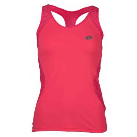 Lotto X RIDE URSULA VI TANK różowy S - Koszulka sportowa damska